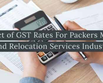 GST Rates For Packers and Movers